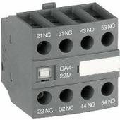 Аксессуары для контакторов CA4-22Е Контакт фронтальный 2НО+2Н3 для AF09-AF96 ABB