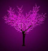 "Светодиодное дерево Neon-night ""Сакура"" фиолетовый 3.6 м, Ø 3 м IP 65"