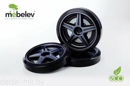 Объемные пластиковые колеса для серии LIGHT, Ауди А-4 и Камаро-М (Черный)