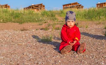 Дождевик для детей Hippychick (Красный)
