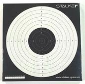 Мишень для пневматики логотип STALKER №17 170х170 мм, картон 280 г/м (50шт/уп),