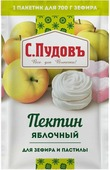 Пудовъ пектин яблочный для зефира и пастилы, 10 г