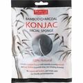 Спонж для умывания Спонж для умывания Beauty Formulas Konjac Bamboo Charcoal Facial Sponge
