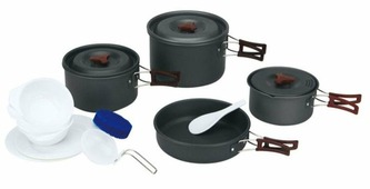 Туристический набор посуды на 4-5 персон Fire-Maple «FMC-206»,
