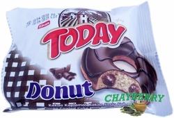 Донаты шоколадные пончики «Today» Шоубокс 1200г