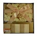 Коробка подарочная раскладная, квадратная, 30х30х17 см, картон (GOLDEN GIFT)