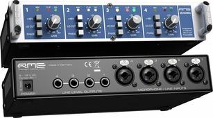 """RME QuadMic II 4-канальный микрофонный предусилитель 9 1/2"""", 1HU"""