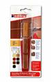 Набор восковой для ремонта мебели Edding E-8901 сосна, 3 оттенка {E-8901#3-B#609}