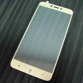 для Xiaomi RedMi 4X Защитное стекло Ainy Full Screen Cover 2,5D 0,33 мм золотое