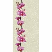 """Панель ПВХ 25 см """"ДекоПласт"""" Дикая орхидея (2.5 м.)"""