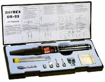Газовый паяльник DAYREX 23 в кейсе 4607099621084
