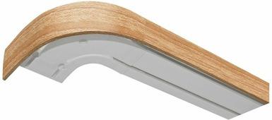 """Бленда для шинного карниза """"Эскар"""", цвет: дуб, ширина 5 см, длина 350 см"""