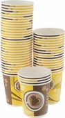 """Набор одноразовых стаканов Huhtamaki """"Кофе с собой"""", 250 мл, 50 шт"""