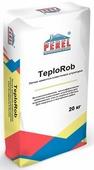 Теплоизоляционная (теплая) перлитовая штукатурка Perel TeploRob, 20кг