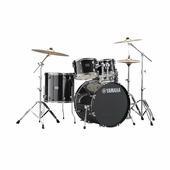 "Yamaha RDP2F5 (Black Glitter) ударная установка , бочка 22"", томы 10"",12"",16"", мал14х5,5"", чёрный"
