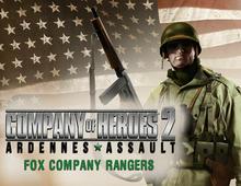Sega Company of Heroes 2 : Ardennes Assault - Fox Company Rangers DLC (SEGA_1698)