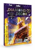 Danko Toys Набор креативного творчества Мозаика Diamond Decor Эйфелева башня
