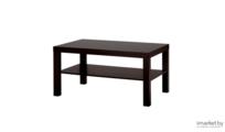 Журнальный столик Ikea Лакк (черный/коричневый) [703.985.82]