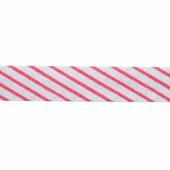 """Бейка косая х/б """"Полоски, клетка, горошек"""", 14 мм, 60 м (цвет: 186), арт. 08-105"""