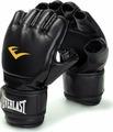 Перчатки для единоборств Everlast Martial Arts Grappling PU, 7560SMU, черный, размер S/M
