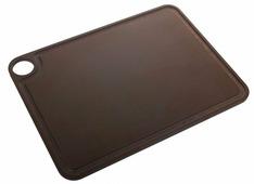 Доска разделочная Arcos Accessories, 692200, с желобом, коричневый, 38 х 28 см