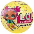 Кукла-сюрприз MGA Entertainment в шаре LOL Surprise 3 Confetti POP, 8 см, в ассортименте, 551515