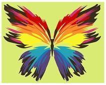 "Артвентура Картина по номерам ""Бабочка-многоцветница"" 16.5x13 см (MINI16130063)"