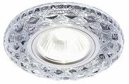 Встраиваемый светильник Ambrella light S288 CH, хром/прозрачный