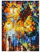 "Белоснежка Картина по номерам ""Огни в ночи"" 30х40 см (3028-CS)"