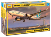 "Сборная модель ZVEZDA Пассажирский авиалайнер ""Боинг 737-8 Max"" (7026) 1:144"