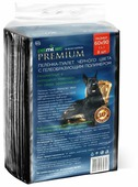 Пеленки для собак впитывающие Медмил Petmil WC Black Premium 60х90 см
