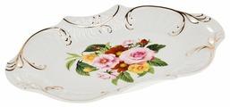 Best Home Porcelain Блюдо Цветочный аромат 21х12.5