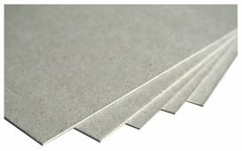 Неокрашенный картон переплетный 2 мм, 1230 г/м2, Luxline Smurfit Kappa, 70х100 см, 1 л.