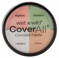 Wet n Wild Набор корректоров для лица Coverall Concealer Palette