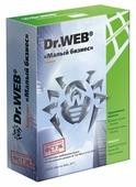 Dr.Web Малый бизнес (5 ПК + 1 сервер, 1 год) коробочная версия