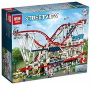 Конструктор Lepin StreetView 15039 Американские горки в парке развлечений