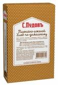 С.Пудовъ Смесь для выпечки хлеба Пшенично-ржаной хлеб по-домашнему, 0.5 кг
