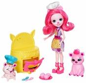 Набор с куклой Enchantimals Друзья Пекари Пэтти Пиг, 15 см, FJJ28