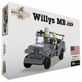 Конструктор Город Игр BrickBattle GI-6745 Джип
