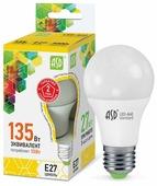 Лампа светодиодная ASD LED-Standard 3000K, E27, A60, 15Вт