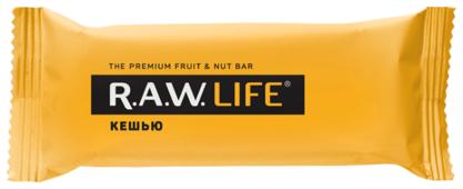 Фруктовый батончик R.A.W. Life без сахара Кешью, 47 г