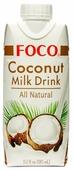 Кокосовый напиток FOCO Coconut milk drink all natural 3.4%, 330 мл