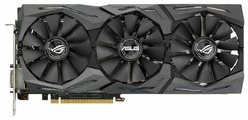 Видеокарта ASUS GeForce GTX 1060 1518MHz PCI-E 3.0 6144MB 8008MHz 192 bit DVI 2xHDMI HDCP Strix Advanced Gaming