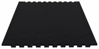 Коврик-пазл ЭкоПолимеры универсальный 100x100x1 с двумя кромками 70 шор