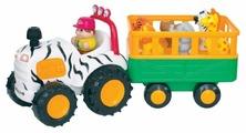 "Развивающая игрушка Kiddieland Трактор ""Сафари"""
