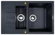 Врезная кухонная мойка Zigmund & Shtain RECHTECK 775.2 77.5х49.5см искусственный гранит