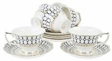 """Чайный сервиз Best Home Porcelain """"Olympia"""" 12 предметов, 220 мл (подарочная упаковка)"""