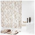 Штора для ванной RIDDER Leaves 180x200