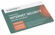 Kaspersky Internet Security Multi-Device Russian Edition. 2-Device 1 year Real Card