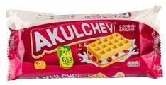 Акульчев Вафли венские Akulchev Сливки-вишня 150 г